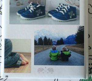 Fotobuch von Saal-Digital mit Softcover (Rückseite)