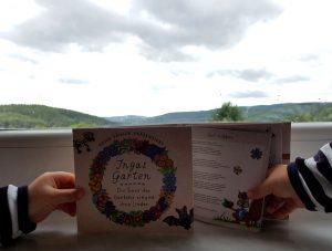 Kinderlieder CD Ingas Garten, Die Tiere des Gartens singen ihre Lieder