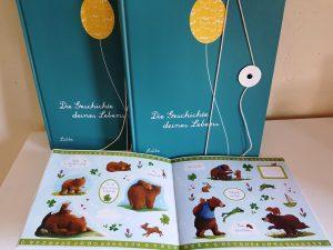 Willkommen kleines Wunder, Stickerbuch aus dem Coppenrath verlag