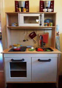 Eine der Beiden Kinderküchen von Alf und Ulf