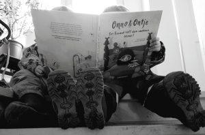 Die Zwillinge Alf und Ulf lesen Onno und Ontje, Ein Freund hilft dem anderen. Immer!