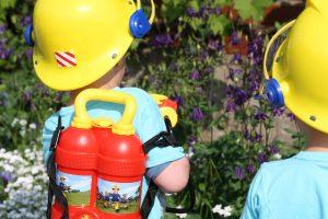 Die kleinen Feuerwehrmänner