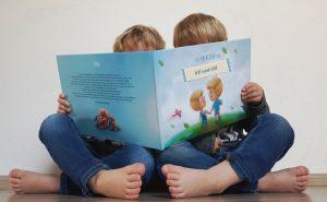 Alf und Ulf lesen ihre Abenteuer