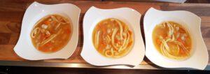 Gemüsesuppe, Suppe macht Glücklich