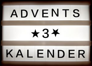 Adventskalender Türchen Nummer 3