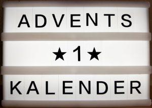 Adventskalender Türchen Nummer 1